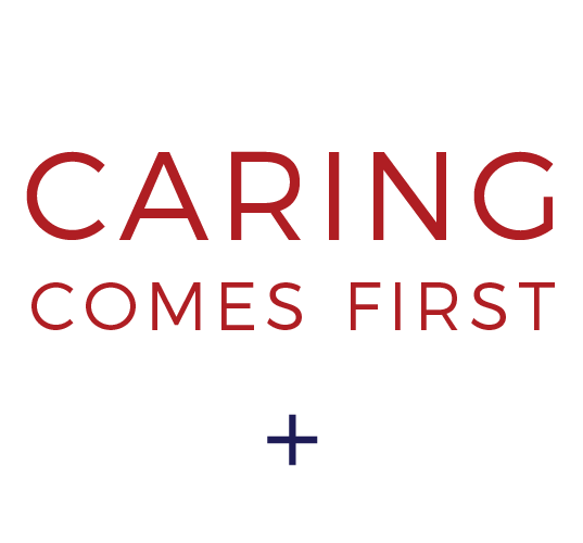 caring comes first